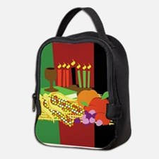 Kwanzaa Design Neoprene Lunch Bag