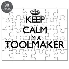 Keep calm I'm a Toolmaker Puzzle