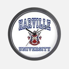 HARVILLE University Wall Clock