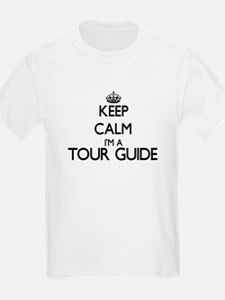 Keep calm I'm a Tour Guide T-Shirt