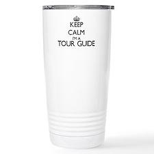 Keep calm I'm a Tour Gu Travel Mug