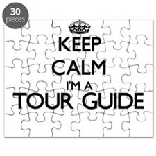 Keep calm I'm a Tour Guide Puzzle