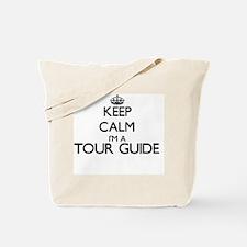 Keep calm I'm a Tour Guide Tote Bag