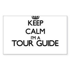 Keep calm I'm a Tour Guide Decal