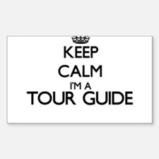 Keep calm I'm a Tour Guide Decal