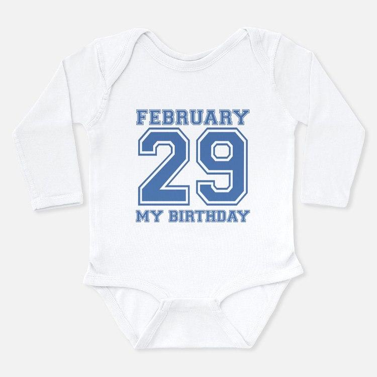 Varsity 29 Birthday Body Suit