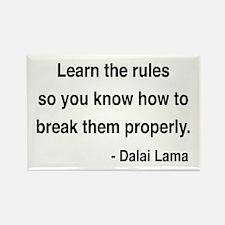 Dalai Lama 11 Rectangle Magnet