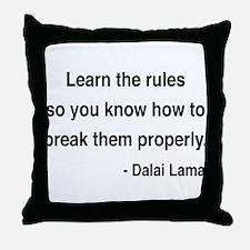 Dalai Lama 11 Throw Pillow