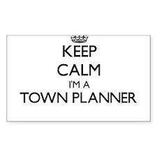 Keep calm I'm a Town Planner Decal