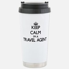 Keep calm I'm a Travel Travel Mug