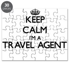 Keep calm I'm a Travel Agent Puzzle