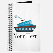 Personalizable Cruise Ship Journal