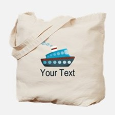 Personalizable Cruise Ship Tote Bag