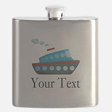 Personalizable Cruise Ship Flask