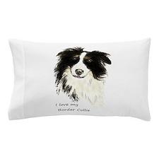 I love my Border Collie Pet Dog Pillow Case