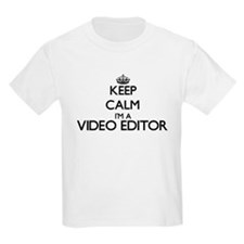 Keep calm I'm a Video Editor T-Shirt