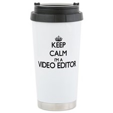 Keep calm I'm a Video E Travel Mug