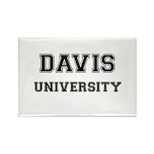 DAVIS UNIVERSITY Rectangle Magnet