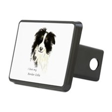 I love my Border Collie Pet Dog Hitch Cover