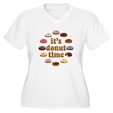 donuttime Plus Size T-Shirt