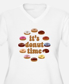 donuttime Plus Size T-Shirt