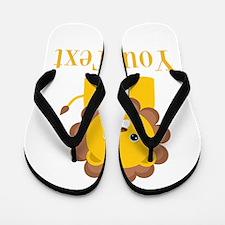 Personalizable Little Lion Flip Flops