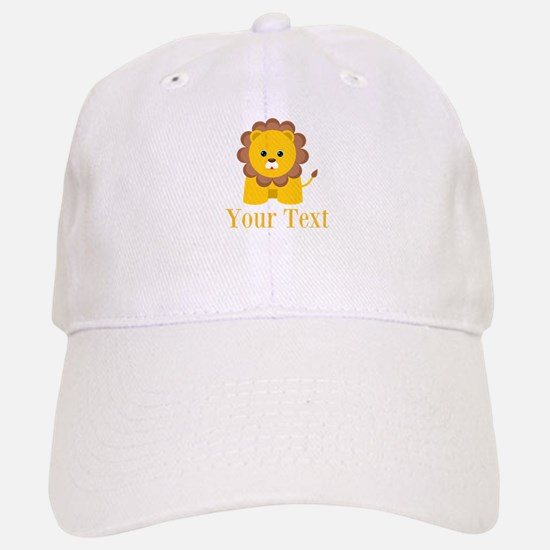 Personalizable Little Lion Baseball Cap