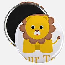 Personalizable Little Lion Magnets
