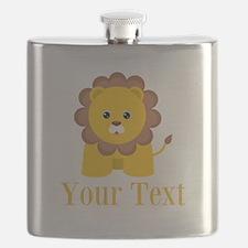 Personalizable Little Lion Flask
