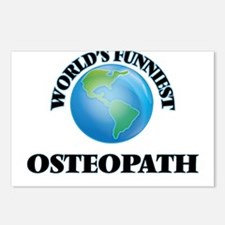 World's Funniest Osteopat Postcards (Package of 8)