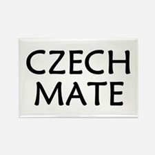 Czech Mate Rectangle Magnet
