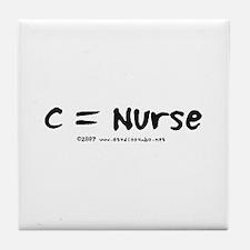 C = Nurse Tile Coaster