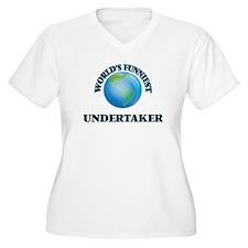 World's Funniest Undertaker Plus Size T-Shirt