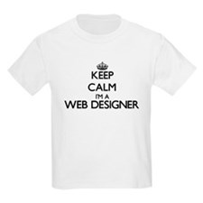 Keep calm I'm a Web Designer T-Shirt