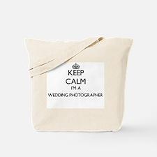 Keep calm I'm a Wedding Photographer Tote Bag