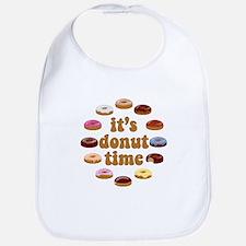 It's Donut Time Bib