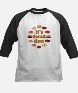 It's Donut Time Baseball Jersey
