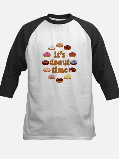 It's Donut Time Baseball Jersey