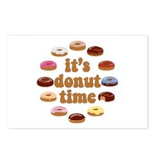 It's Donut Time Postcards (Package of 8)