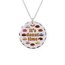 It's Donut Time Necklace