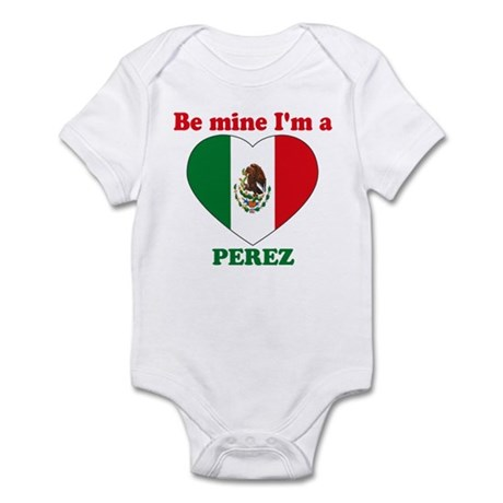 Perez, Valentine's Day Infant Bodysuit