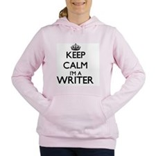 Keep calm I'm a Writer Women's Hooded Sweatshirt