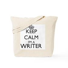 Keep calm I'm a Writer Tote Bag