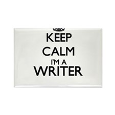 Keep calm I'm a Writer Magnets