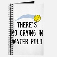 There's No Crying In Water Polo Journal