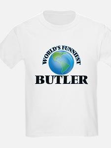 World's Funniest Butler T-Shirt