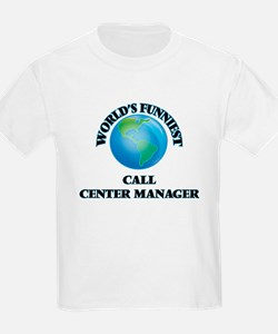 World's Funniest Call Center Manager T-Shirt