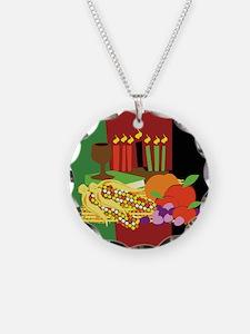 Kwanzaa Design Necklace