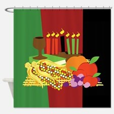 Kwanzaa Design Shower Curtain