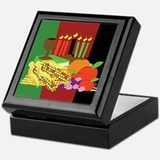Kwanzaa Design Keepsake Box
